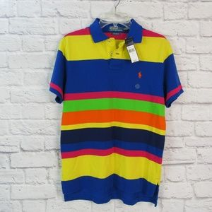 Polo by Ralph Lauren Men's M Custom Fit Polo Rugby
